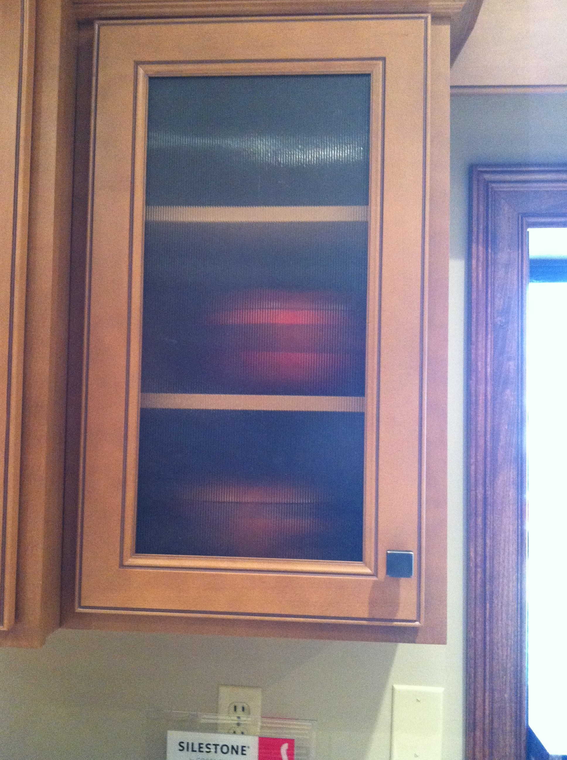 Another Con To Installing Glass Doors Is That Over Time They Become  Discolored And May Need Replacing More Often Than Solid Cabinet Doors.